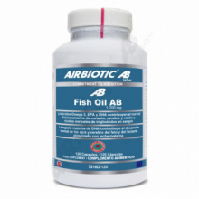 Airbiotic Fish Oil AB Aceite de Pescado 1200mg 120cap