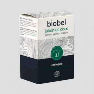 Biobel Jabon Pastilla Coco Prendas Delicadas Eco 240gr
