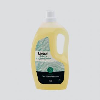 Biobel Jabon Ropa Bebe Pieles Sensibles Ecologico 1,5L