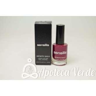 Esmalte de uñas Larga duración 06 Prune de Sensilis 10ml