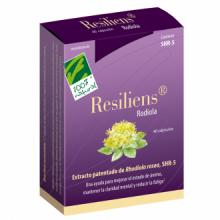 100% Natural Resiliens Rodiola 40cap