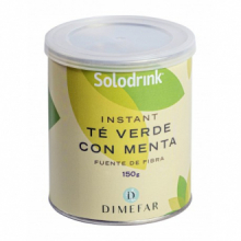 Dimefar Solodrink Te Verde Menta 150gr
