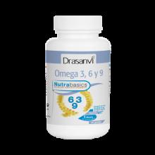 Drasanvi Nutrabasics Omega 3-6-9 24perlas