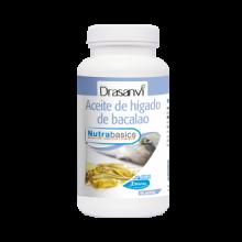 Drasanvi Nutrabasics Aceite de Higado de Bacalao 90perlas