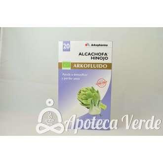 Arkofluido Alcachofa Hinojo de Arkopharma 20 ampollas bebibles