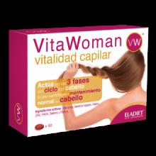 Eladiet VitaWoman Vitalidad Capilar 60comp