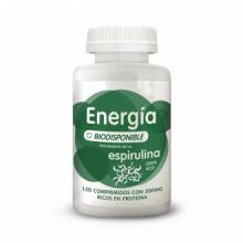 Energy Feelings Energia Espirulina Biodisponible 120comp