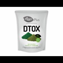 El Granero Integral Detox Chlorella Spirulina Superalimento Bio 200gr