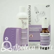 Pranarom Aromapar Tratamiento Completo Antipiojos Champu Spray Lendrera