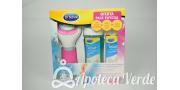 Pack especial de Dr. Scholl Lima Electronica Velvet Smooth + Baño Para Pies 150ml + Serum Intenso 30ml