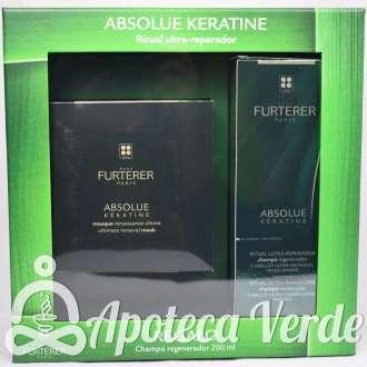Pack de Ritual Ultra-reparador Absoulte Kératine de René Furterer