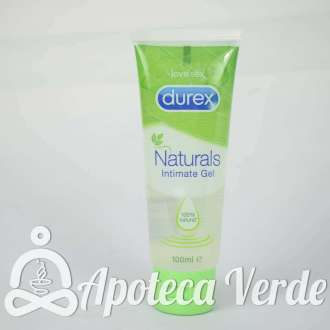 Lubricante Intimate Naturals de Durex 100ml