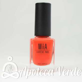 Esmalte de uñas Orange Clay 5Free de MIA Laurens 11ml