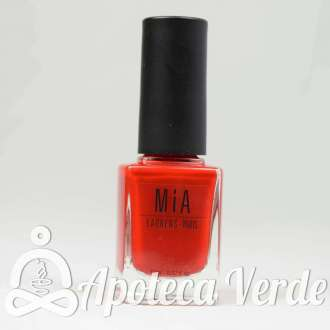 Esmalte de uñas Poppy Red 5Free de MIA Laurens 11ml