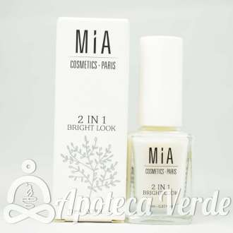 Tratamiento de uñas Bright Look 2 en 1 de MIA Laurens 11ml