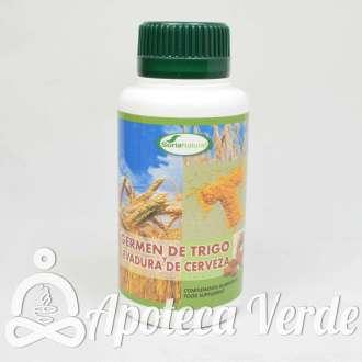 Germen de trigo y levadura de cerveza de Soria Natural 500 comprimidos