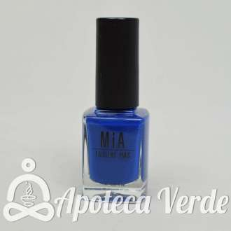 Esmalte de uñas Electric Blue 5Free de MIA Laurens 11ml