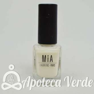 Esmalte de uñas Cotton White 5Free de MIA Laurens 11ml
