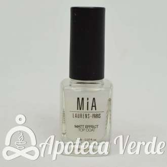 "Esmalte Top Coat ""Matt Effect"" 5Free de MIA Laurens 11ml"