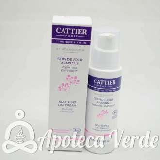 Crema de día calmante Brin de Douceur Arcilla Rosa de Cattier 50ml