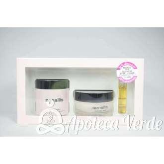 Pack de Peeling Negro revitalizante 75 ml + Crema de dia Iluminadora Skin Delight 50ml + Aceite Supreme DTX 5ml de Sensilis