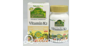 Vitamina K2 Garden de Natures Plus 60 cápsulas