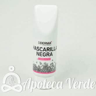 Mascarilla Negra de Carbón Activo de Dderma 75 ml
