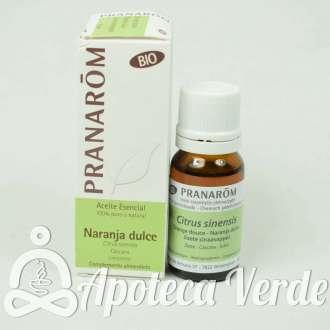 Aceite Esencial de naranja Dulce de Pranarom 10ml