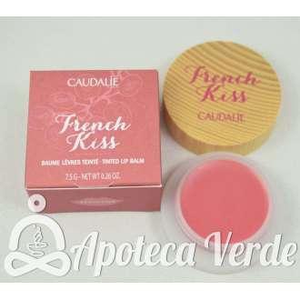 Bálsamo con color para Labios French Kiss Seduction de Caudalie 7,5g