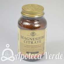 Citrato de Magnesio de Solgar 60 comprimidos