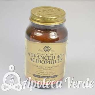 40+ Acidophilus Avanzado de Solgar 60 cápsulas vegetales