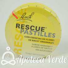 Pastillas Rescue Remedy Flores de Bach