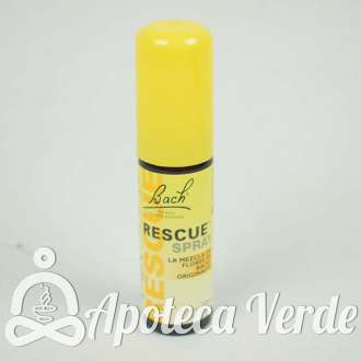 Spray Rescue Remedy Flores de Bach Originales Remedio de Rescate 20ml