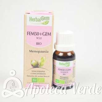Fem 50+ Gem Bio Complejo Menopausia de Herbalgem