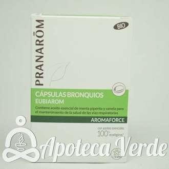 Aromaforce Cápsulas Bronquios Eubiarom Bio de Pranarom 30 pastillas