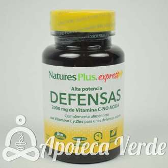 Express Defensas de Natures Plus 30 comprimidos