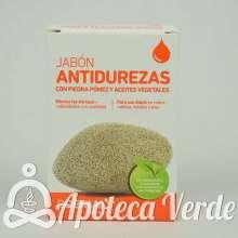 Jabón Antidurezas con Piedra Pómez y Aceites Vegetales Dderma 125 gramos