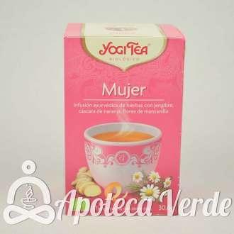 Infusión Bio Mujer Yogi Tea 17 bolsitas