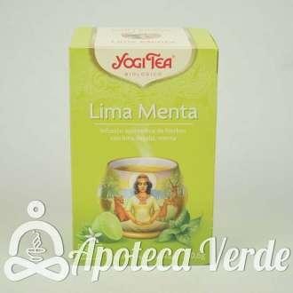 Infusión Bio Lima Menta Yogi Tea 17 bolsitas