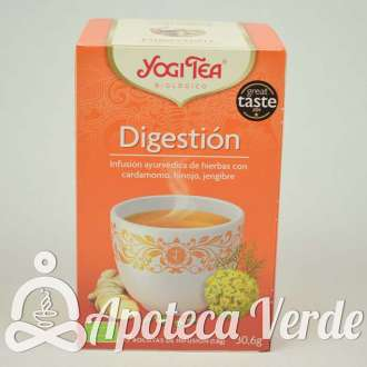 Infusión Bio Digestión Yogi Tea 17 bolsitas