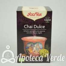 Infusión Bio Chai Dulce Yogi Tea 17 bolsitas