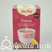 Infusión Bio Detox Yogi Tea 17 bolsitas