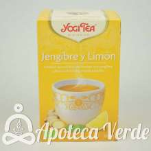 Infusión Bio Jengibre y Limón Yogi Tea