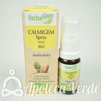 Spray Calmigem Bio de HerbalGem 10ml