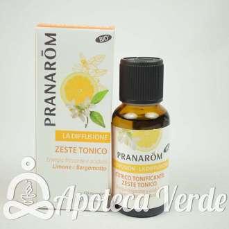 Mezcla para difusor Cítrico Tonificante Bio Eco Pranarom
