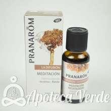 Mezcla para difusor Meditación Bio Eco Pranarom