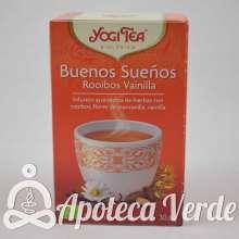 Infusión Bio Buenos Sueños Rooibos Vainilla Yogi Tea 17 bolsitas