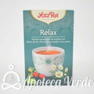Infusión Bio Relax Yogi Tea 17 bolsitas