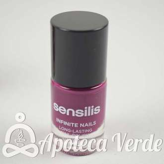 Sensilis Infinite Nails Esmalte Uñas Larga Duración Aubergine