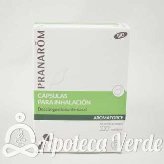 Aromaforce Cápsulas para Inhalación Bio Pranarom